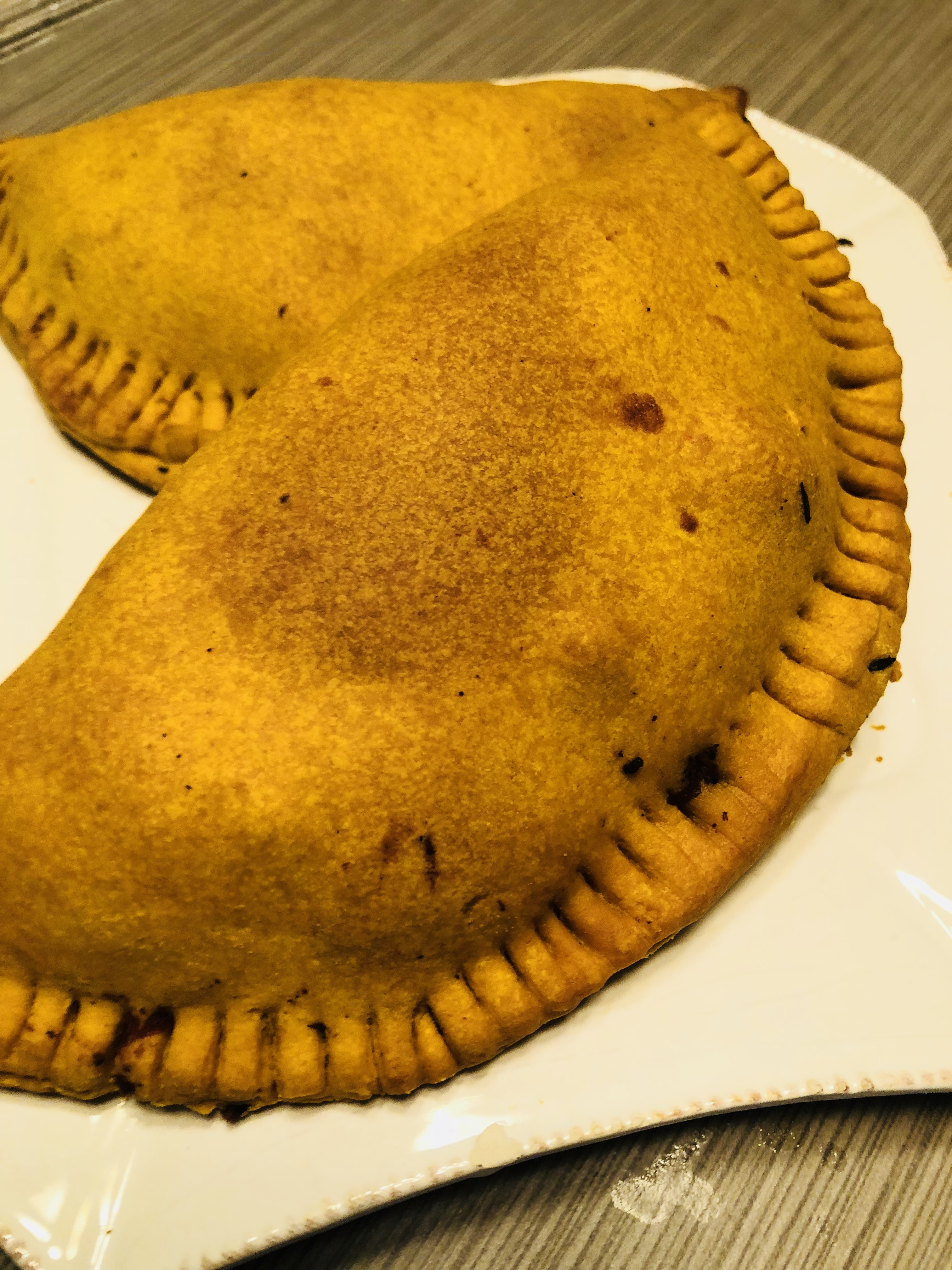 Jamaican-style Beef Patties - Mrs. Island Breeze